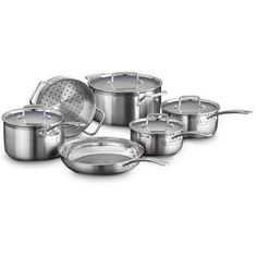 Cuisinart® Multiclad Pro Stainless-Steel 10-pc Cookware Set