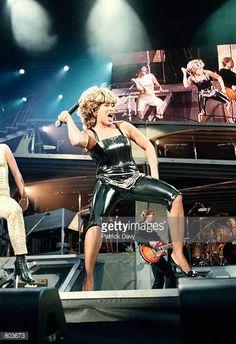 Singer Tina Turner performs in concert July 7 2000 in Paris France