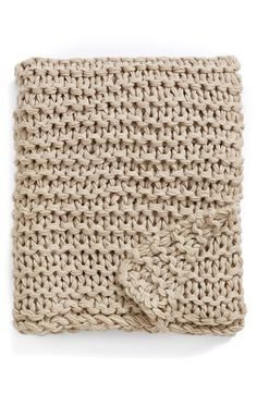 Kennebunk Home Chunky Knit Throw