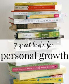 7 Personal Growth Books