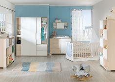 Babyzimmer Mia & Ben - Leiner Baby Kind, Toddler Bed, Chrome, Room, Furniture, Home Decor, Kid Furniture, Child Bed, Bedroom