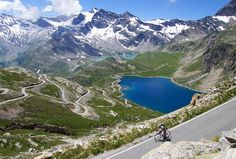 Updated: 100 Cycling Climbs Better Than Alpe d'Huez Ken Duken, Lake Annecy, Aosta Valley, Alpe D Huez, Alpine Lake, The Far Side, Three Sisters, Alps, Vacation Trips