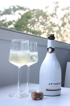 homevialaura | summer evening | city balcony | sparkling wine | J.P. Chenet Ice Edition