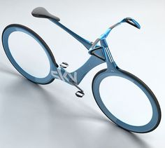 Olympic cyclist Chris Boardman's concept for an urban bike of the future. Very light and strong carbon fiber. Uses an iPhone-type device to display maps, speed, warnings, and communication. Contacts the Police on attempted theft. Velo Design, Bicycle Design, Road Bikes, Cycling Bikes, Cycling Equipment, Olympic Cyclists, Bike Cart, Build A Bike, Concept Motorcycles