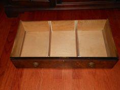 drawer dividers DIY