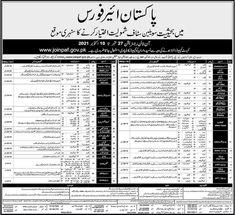 Pakistan Airforce Online Registration Sep-Oct 2021 For Civilian