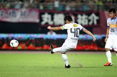 #40 He got a goal from FK. 小笠原満男