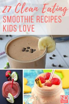 These are some of the best tasting smoothies we could find. The best part is tha… – easy kids friendly dinners Meals Kids Love, Healthy Meals For Kids, Good Healthy Recipes, Real Food Recipes, Dessert Recipes, Desserts, Paleo Kids, Amazing Recipes, Delicious Recipes