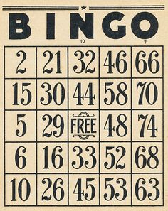 free bingo downloads