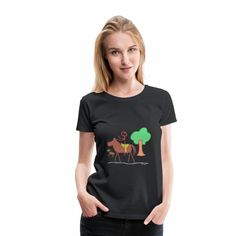 Blue Butterfly T-Shirt Women's Premium T-Shirt ✓ Unlimited options to combine colours, sizes & styles ✓ Discover T-Shirts by international designers now! T Shirt Designs, Grunge Style, Viscose Fabric, Pullover, Blue Butterfly, Madame, Kind Mode, Custom Clothes, Fabric Weights
