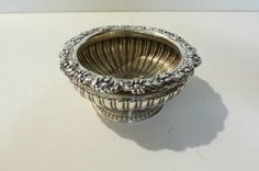 Silk Purse :: Sterling silver salt dishes by Paul Storr 1821