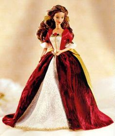 1997 Holiday Princess Belle Doll #doll #dolls