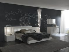 Bedroom Designs, Knockout Interior Bedroom Wall Paint Design Ideas Bedroom Paint Colors Dark Tones With Accent Wallpaper: Bedroom Wall Paint...