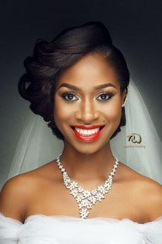 Las mujeres negras peinados de boda con encanto - http://losmejorespeinados.com/las-mujeres-negras-peinados-de-boda-con-encanto/
