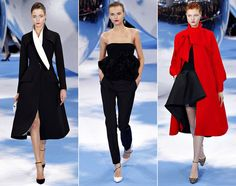 Paris Fashion Week Fall 2013: Christian Dior is the epitome of modernist glamour. Raf Simons's second prêt-à-porter collection for the iconic fashion house is sleek and divinely wearable.