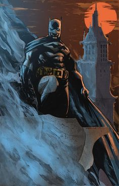 Dustin Nguyen's  Batman by ChrisSummersArts.deviantart.com on @deviantART