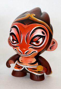 Peking Monkey King custom vinyl toy