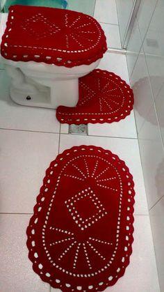 Pot Holders, Crochet Top, Crafts For Kids, Bathroom, Knitted Rug, Red Carpet, Bedspreads, Hampers, Bathroom Sets