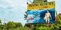Das Suferparadies Medewi Beach auf Bali