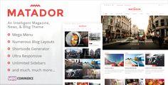 Matador - Responsive News, Blog, & Magazine Theme  -  https://themekeeper.com/item/wordpress/blog-magazine/matador-news-blog-magazine-theme