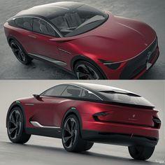Car Design Sketch, Car Sketch, Futuristic Cars, Futuristic Vehicles, Maserati Suv, Automotive Design, Auto Design, Electric Crossover, Transportation Design