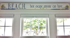 B.E.A.C.H. best escape anyone can have. Completely Coastal beach sayings and quotes: http://www.pinterest.com/complcoastal/ocean-beach-quotes-and-sayings/