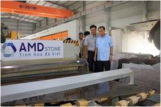 Lãnh đạo Tỉnh Thanh Hóa có buổi thăm và làm việc tại nhà máy AMDSTONE