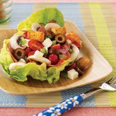 Pizza Salad Recipe | Spoonful