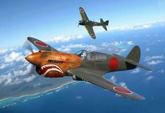 Captured Curtiss P-40