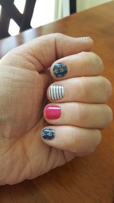 Free Spirit with Haute Pink Jamberry nail wraps.  Loving this combination.  You can find them here:  https://kelluvsjams.jamberry.com/us/en/shop/search?q=free+spirit+haute#.Vxag0WNbh1Y