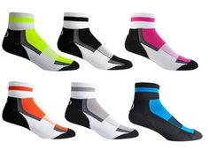 Boys' Cycling Socks - Coolmax All Season Quarter Crew Socks by Aero Tech Designs -- Click on the image for additional details.