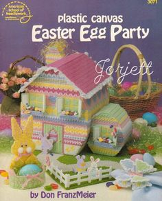 Free Easter Plastic Canvas Patterns | THIS ITEM IS CRAFT PATTERN(S) ~ WRITTEN INSTRUCTIONS TO MAKE IT ...