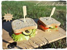 Sandwich d'été sans gluten et sans caséine
