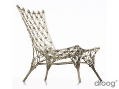 Knotted chair by Marcel Wanders. I LOVE it!