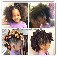 Cute Ponytail Hawk For Kids IG:@returning2natural ‪#‎protectivestyles‬ ‪#‎naturalhairmag‬