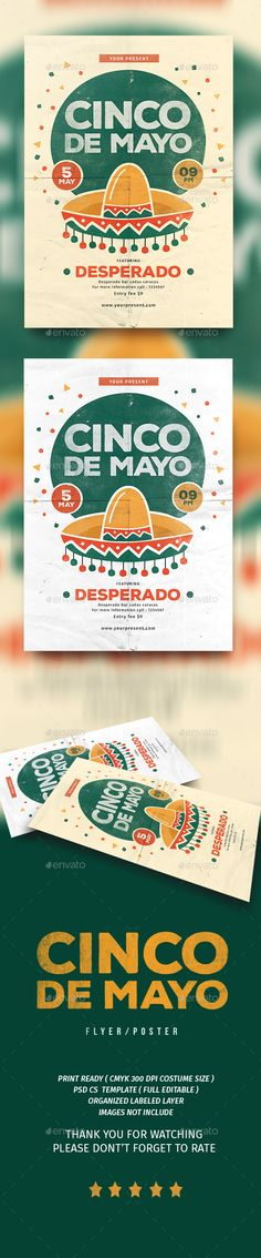 Cinco De Mayo Flyer Template PSD. Download here: http://graphicriver.net/item/cinco-de-mayo/15842065?ref=ksioks