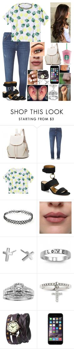 """""""Untitled #3284 - Outfit of the Day - 5/28/17"""" by nicolerunnels ❤ liked on Polyvore featuring Dorothy Perkins, Aquazzura, Forever 21, J.A.K., Adina Reyter, Fantasy Jewelry Box, A.Jaffe and Helix"""