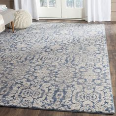 """Darby Home Co Sofia Blue Area Rug Rug Size: Runner 2'2"""" x 8'"""