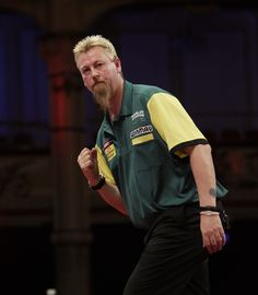 """The greatest darts player from Australia, """"The Wizard"""" Simon Whitlock."""