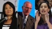 ONPE al 84,62%: Keiko 39,5%, PPK 21,56%, Mendoza 18,52%. 04/12/16.