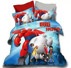 Big Hero 6 Kids Bedding for the Baymax fan #bighero6