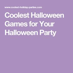 Turn your favorite party games into the coolest Halloween games using these clever ideas. Throw the spookiest holiday party without spending all your money! Toddler Girl Halloween, Halloween Games For Kids, Fun Games For Kids, Holidays Halloween, Halloween Fun, Halloween Parties, Halloween Birthday, Halloween Treats, Halloween Scavenger Hunt