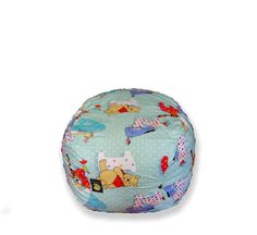 Gamer chair in multi coloured patchwork cotton – TheBeanBag