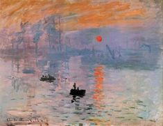 Claude Monet - Impression als Kunstdruck, Poster oder Gemälde