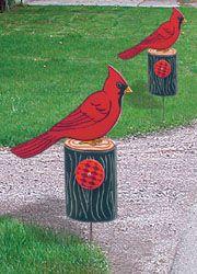Cardinal Driveway Marker Pattern