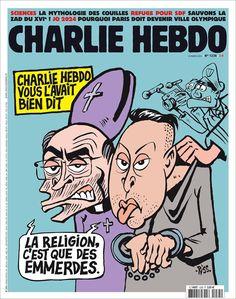 Le journal de BORIS VICTOR : La UNE de Charlie Hebdo du 23 Mars 2016, n° 1235