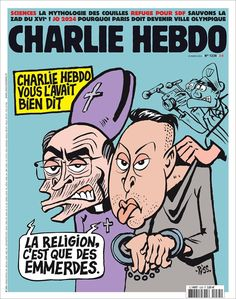 Charlie Hebdo - # 1235 - 23 Mars 2016 - Couverture : Riss