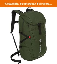 Columbia Sportswear Fairview Rucksack (Spruce). Were constantly testing our products in the worst conditions all around the world to make our products perform even better. Explore how we test, and share your toughest moments of testing here. The Columbia Fairview Rucksack holds a cool 23.9 L (1459 cubic inches, and comes with a lifetime warranty. Patented Omni-Shield delivers protection from outdoors where you least expect it but need it most.