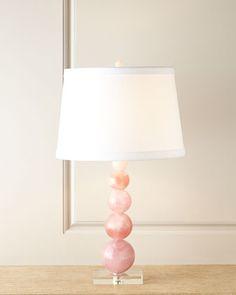 Quartz Table Lamp at Neiman Marcus. $995