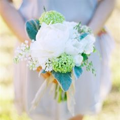Herb-filled Bridesmaid Bouquets